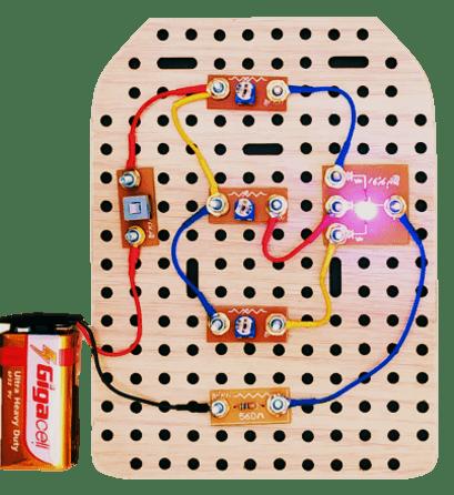 مدار تشکیل رنگ بسته آموزش رباتیک و الکترونیک روبونیچ
